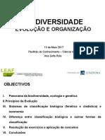 ACD_Biodiversidade_evolução e organização_Maio2017