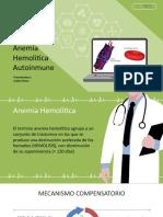 Anemia Hemoliticay Covid