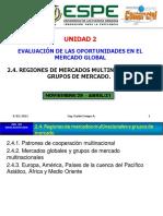 2.4. Regiones de Mercados Multinacionales y Grupos de Mercado Ok Ok