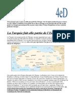 Dossier Turquie - Groupe 2