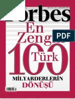 Forbes en Zengin 100 Turk