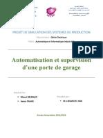 Automatisation Et Supervision d'Une Porte de Garage