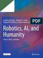 Book Robotics AI And Humanity