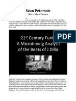 21st Century Funk a Microtiming Analysis