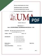PRACTICA 2 Determiancion de HDL Y LDL - Copia