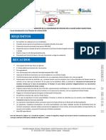 Recaudos y Requisitos Inscripción Curso Introductorio