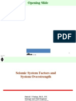 Seismic System Factors and System Overstrength