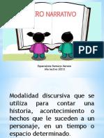 Genero Literario La Narrativa