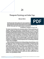 Therapeutic Psychology and Indian Yoga