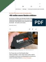 Trade Republic beschränkt Handel mit GameStop-Aktien - DER SPIEGEL