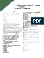 285272448 Preguntas de Examenes de Admision Unmsm Historia Universal