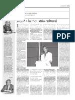 2010-02 - Dossier Empresarial - Jaque a la Industria Cultural