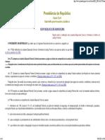 Juizados Especiais Cíveis e Criminais No Âmbito Da Justiça Federal Lei 10259 - Acesso Em 08-06-2010