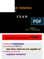 2011Feb24 - Power of Positive Thinking in Ovecoming Fear - [Please download and view to appreciate better animation aspects]