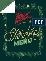 Christmas Menu 1