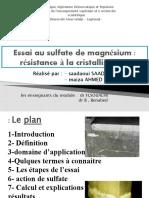 Mg de sulfate 1