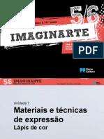Materiais e técnicas de expressão