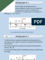 Análisis Estructural Pendiente Deflexión Vigas