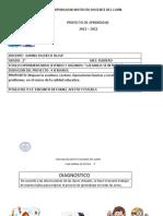 Proyecto de Aprendizaje Feb.2021 Grado 2 Karina Pacheco