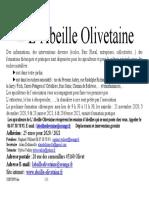 L'Abeille Olivetaine 2020 08 26