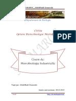 Cours de Microbiologie Industrielle