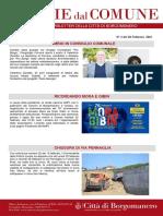 Notizie Dal Comune di Borgomanero del 20-02-2021