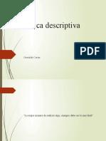 Clase 1 Descriptiva
