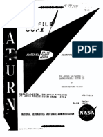 The Apollo A Saturn C-1 Launch Vehicle System