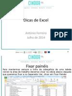 Dicas de Excel - Julho de 2014
