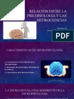 RELACIÓN ENTRE LA PSICOBIOLOGÍA Y LAS NEUROCIENCIAS