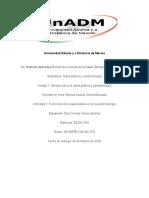 Actividad 2. Funciones de la salud publica y de la epidemiología