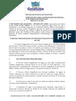 Edital Processo Seletivo Simplificado 001-2021 - Profissionais da Educação