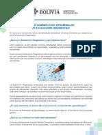 Orientaciones Evaluación Diagnostica