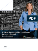 First Steps to Achieving Effective Inventory Control