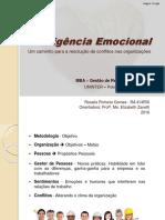 Inteligência Emocional_Um caminho para a resolução de conflitos nas organizações_Rosalie Gomes