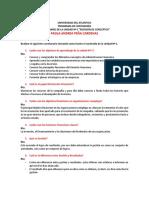 CUESTIONARIO DEL CONTENIDO DE LA UNIDAD 1. Presupuesto