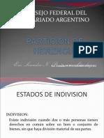 Particion de Herencia Jornada Capacitacion-Colegio-Esc-Salta-2012