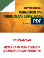 1. Manajemen Industri PDF