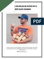 Kadu Barros Apostila de Bolos de Potes 2019