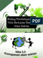 Nota 3.3 Kemapanan Alam Sekitar (Tingkatan 4)
