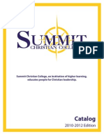 Summit Christian College Official Catalog