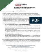 4° Simulado PRF 2021 Pós-Edital - Gran Cursos
