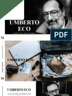 Umberto Eco Por Dayer