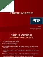 Violência Doméstica - 2007