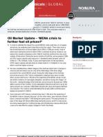 Nomura Oil Prices