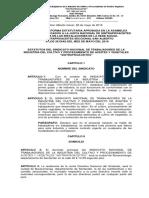 reforma de los estatutos finales 28 de mayo de 2016