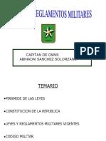 Leyes y Reglamentos Cap Sanchez