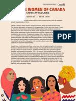diverse women of canada flyer