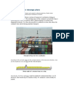 Container stowage plans