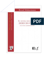 Sistema Moderno Del Derecho Penal - BERND SCHUNEMANNpdf